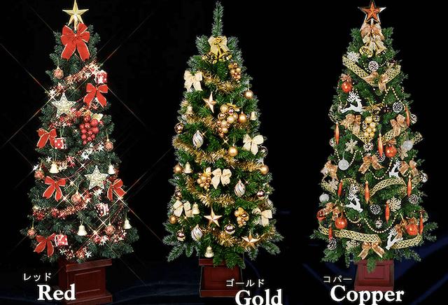 木製クリスマスツリーセットスリム