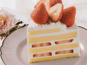 スペシャルストロベリークリスマスケーキ
