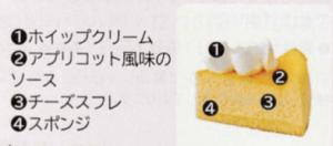 しっとりスフレチーズケーキ(5号相当)