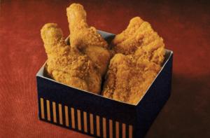 黄金チキン・LチキBOX(4個入り)