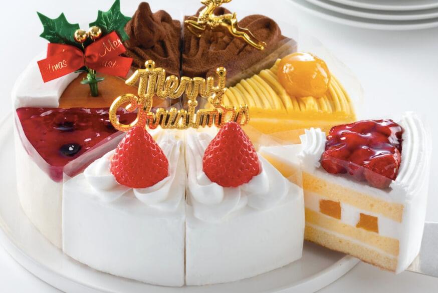 クリスマスショートケーキ詰め合わせ