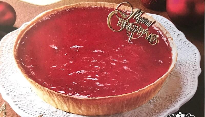 モロゾフ クリスマス 苺のチーズケーキ