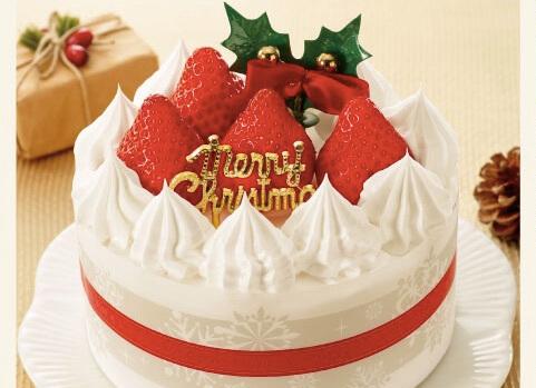 糖質を抑えた苺のケーキ4号