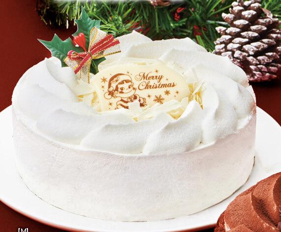 クリスマスホワイトチョコ生ケーキ