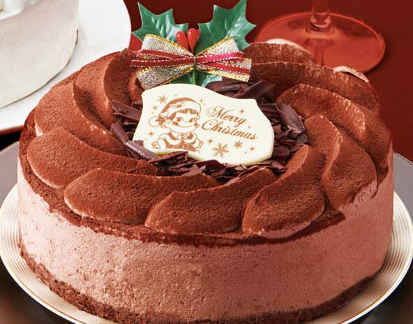 クリスマスホワイト生ケーキ