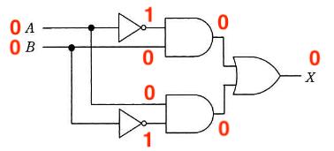 論理回路図の入力パターン1