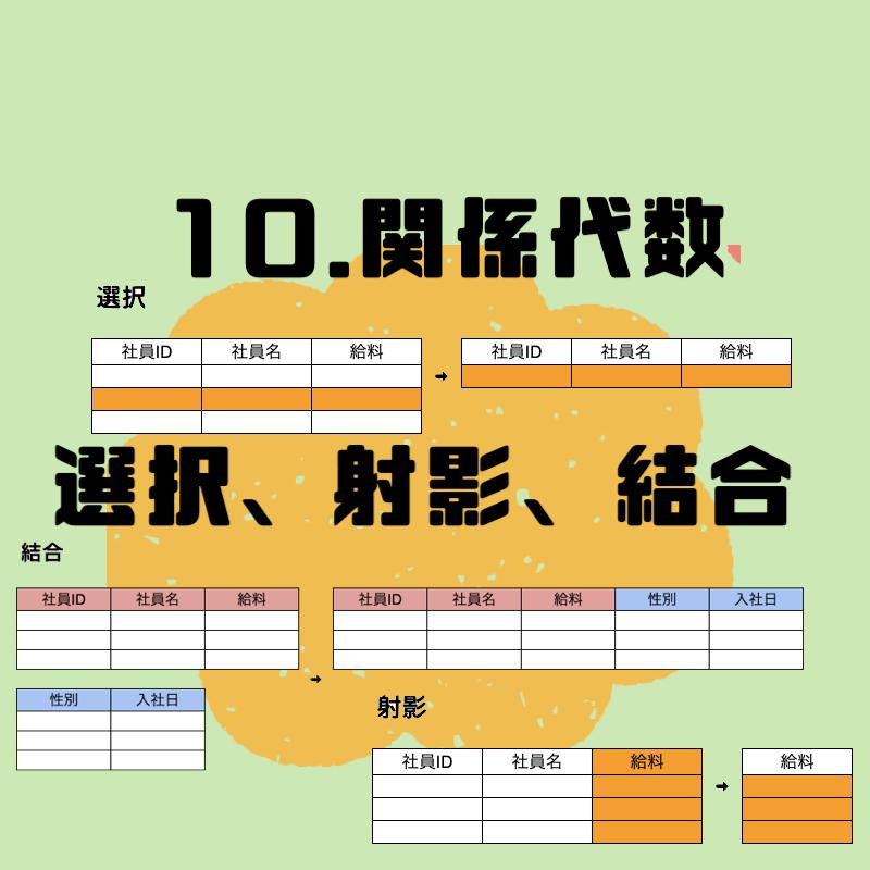 10.関係代数