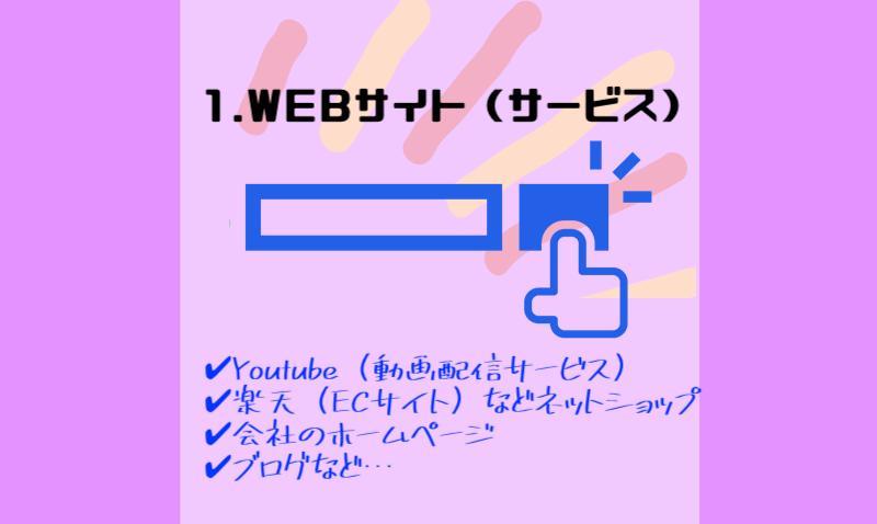 WEBサイトやWEBサービスの製作