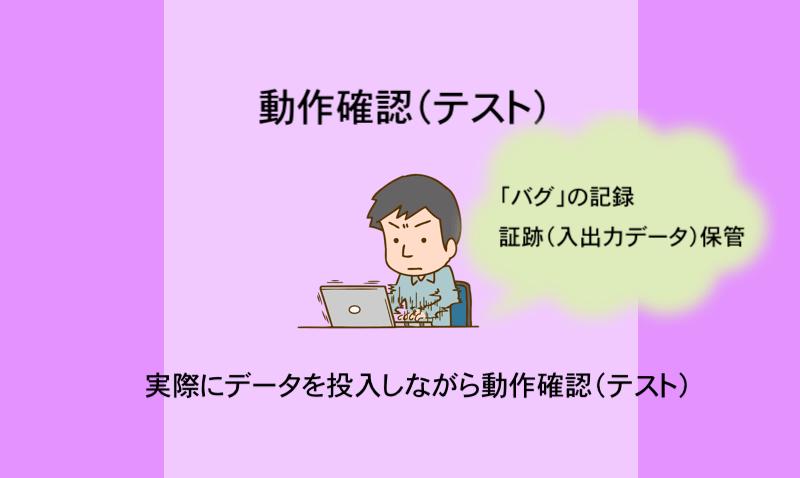 動作確認(テスト)