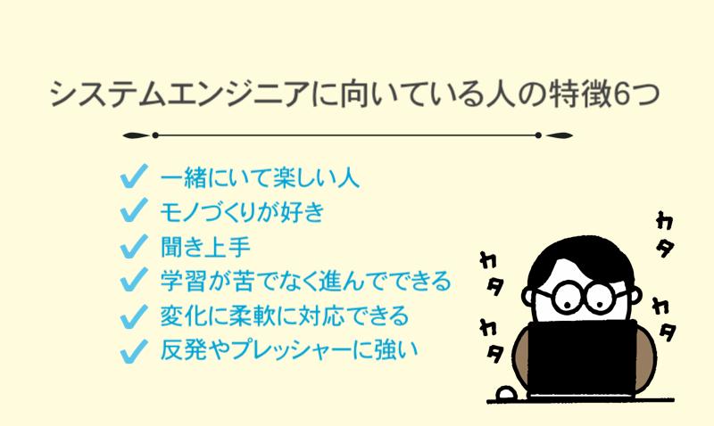 システムエンジニアに向いている人の特徴 (1)