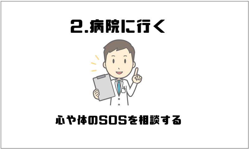 2.病院に行く