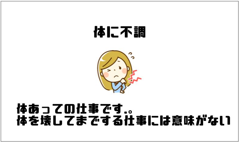 2.体に不調