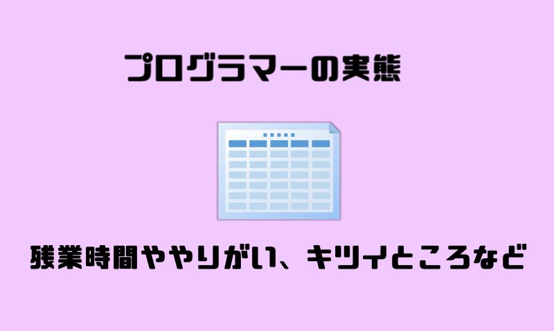 3.プログラマーの実態